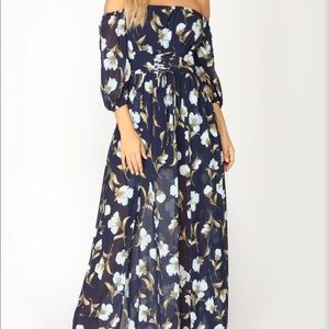 Fashion nova morning walk floral dress